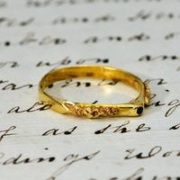 The Ancient Medieval Green & Gold Bishop's Stirrup Ring (3 of 5)