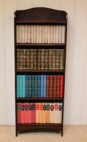 Slim Oak Open Bookcase (3 of 9)