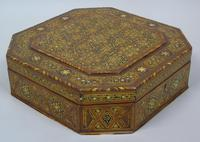 Antique Indian Inlaid Lidded Box (3 of 10)
