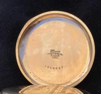 Watch Pocket Half Hunter Gold Plated (6 of 6)