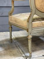 Super Pair of French Upholstered Armchairs (24 of 26)
