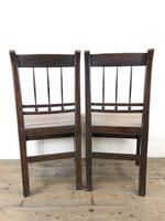 Pair of 19th Century Welsh Oak Farmhouse Chairs (11 of 11)