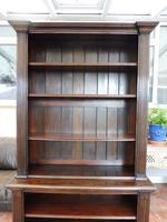 Waring & Gillow oak bookcase 1910 splits into 2 (7 of 10)