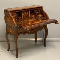 Early 19th Century Dutch Marquetry Bureau (5 of 13)