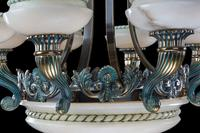 Early 20th Century Eight Arm Chandelier (4 of 6)