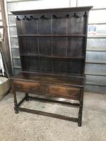 Beautiful 18th Century Oak Dresser (3 of 6)