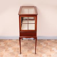 Inlaid Mahogany Display Cabinet (4 of 12)