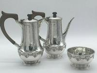 Silver Coffee Set by Arts and Crafts Silversmith A E Jones 1919 (12 of 12)