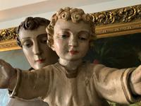 Bohumil Kafka RARE Carved Statue Sculpture St Anthony & Jesus (3 of 32)