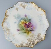 Good Royal Doulton Burslem Hand Painted Dessert Set 19th Century (8 of 12)