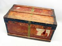 WW1 Era Marshall Campaign Chest / Trunk, Labels & Provenance (21 of 23)