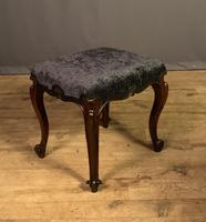 Useful Victorian Rosewood Stool (5 of 11)