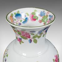 Antique Baluster Posy Vase, English, Ceramic, Decorative, Flower Urn c.1920 (8 of 12)