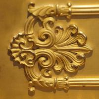 Large French Empire Gilt Clock by Deniere et Fils (2 of 11)