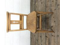 Set of Eight Antique Church Chairs (m-2068-8) (3 of 7)