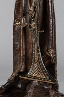 Magnificent 19th Century French Bronze Sculpture of Arabian Sentinel, Signed J.Angles (15 of 19)