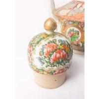 19th Century Cantonese Femille Rose Large Tea Pot (10 of 12)