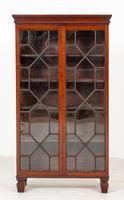 Georgian Style Mahogany Glazed Bookcase (2 of 6)
