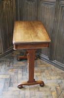 Oak Occasional Side Tea Table (6 of 9)