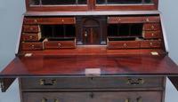 Superb Quality 18th Century Mahogany Bureau Bookcase (11 of 23)