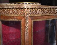 French Display Cabinet Vernis Martin Painted Bijouterie c.1900 (9 of 16)