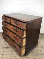Georgian Mahogany Straight Front Chest of Drawers (10 of 12)