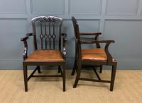 Set of 8 Mahogany Chippendale Style Dining Chairs (9 of 13)