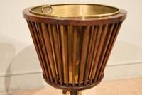 19th Century Dutch Mahogany Ice Bucket on Stand (7 of 7)