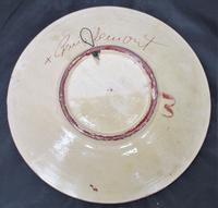 Spanish Art Pottery Fish Plate, Puigdemont Catalonia c.1950 (2 of 5)