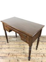 Antique Victorian Mahogany Side Table (9 of 13)