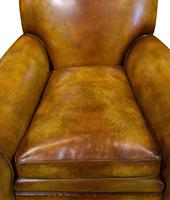 Pair of Leather Club Chairs c.1890 (9 of 11)