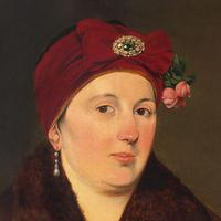 Helene Russo, Portrait of Lady in Furs, Oil Painting (3 of 7)