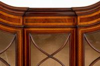 Quality Sheraton Revival Mahogany Display Cabinet (5 of 9)