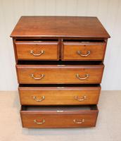 Late 19th Century Walnut Chest of Drawers (3 of 12)