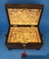 Regency Sarcophagus Rosewood Jewellery Box (14 of 15)