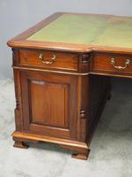 Georgian Style Mahogany Partners Desk (2 of 11)