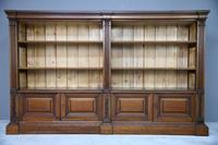 Antique Mahogany Bookcase (10 of 10)
