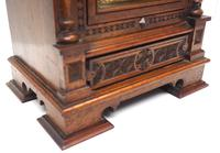 Superb Antique Solid Walnut 8-day Mantel Clock Ting Tang Striking Bracket Clock by W&H (5 of 12)
