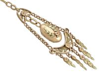 18ct Yellow & Rose Gold Locket - Antique French c.1880 (3 of 9)