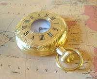 Vintage Pocket Watch 1970s Swiss County 17 Jewel 12ct Gold Plated FWO (7 of 12)