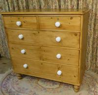 Victorian Stripped Pine Chest of Drawers - Carriage Paid Most Areass (2 of 9)