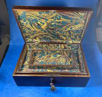 Victorian  Fitted Jewellery Box With Inlay (13 of 15)