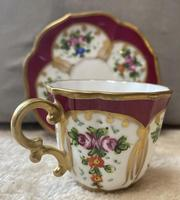 Limoges, France Hand Painted Cup & Saucer (3 of 6)