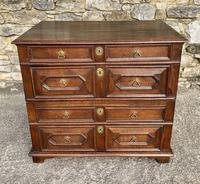 17th Century Oak Two Part Chest of Drawers (2 of 20)