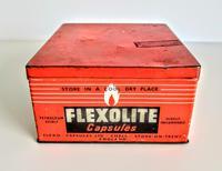 Vintage Advertising Tin for Flexolite  Lighter Fuel Capsules (6 of 10)