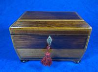 Regency Rosewood Twin Section Tea Caddy (2 of 12)