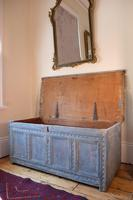 18th Century Painted Pine Coffer (11 of 28)