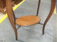 Two Tier Oval Window Table (3 of 3)