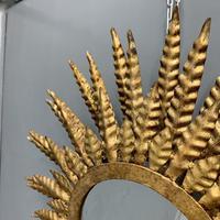 55cm 3 Tier Spanish Sunburst Mirror (3 of 6)
