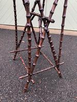 Unusual Walnut & Bamboo Table (2 of 6)